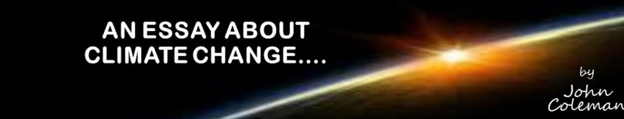JOHN COLEMAN'S ESSAY ABOUT CLIMATE CHANGE/GLOBALWARMINGTitle